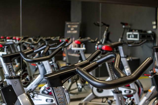 Salle où se déroulent les cours de Bike