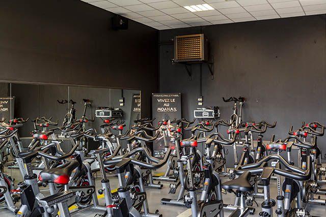 Salle de bike du Moana